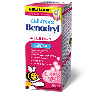 picture of benadryl