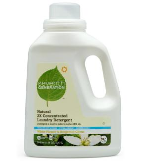 Seventh Generation Laundry Detergent - NUT ALLERGY ALERT