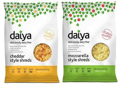 Daiya Vegan Cheese: Ingredients & Allergen Information